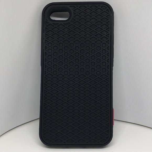 separation shoes b4ea7 9a6d7 Vans IPhone 7/7 Plus Rubber Waffle Case All Black
